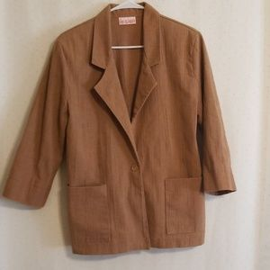 Vintage | Brown Blazer